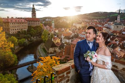 Pre-Wedding photo shoot in Český Krumlov (CK)