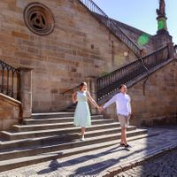 Love Story photo shooting in Prague