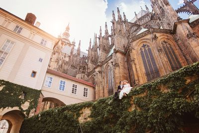 Wedding & Pre-Wedding photo shooting in Prague