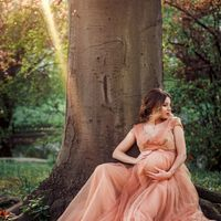 Kristina - Maternity photo shooting in Prague
